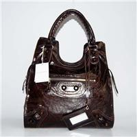 balenciaga bags lune 218383 in deep coffee