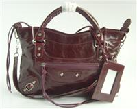 balenciaga handbags first 084331 in chocolate