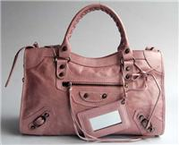 balenciaga handbags giant city 084332 in rose pink