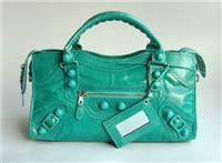 balenciaga handbags giant city 084828 in agate blue
