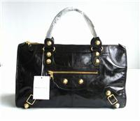 balenciaga handbags giant work 084324 fashion in black