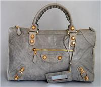 balenciaga handbags giant work 084324 in french grey