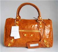 balenciaga handbags giant work 084324 in orange